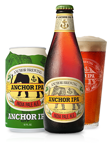 Anchor IPA™ Bottleshot - A Craft California IPA