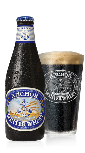 Anchor Winter Wheat™ Bottleshot - Winter Warmer Beer