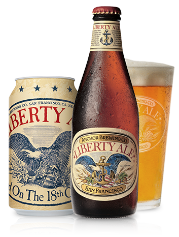 Liberty Ale® Bottle Shot - Historic American Beer