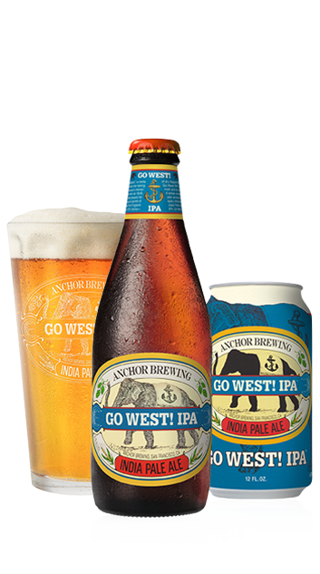 Go West! IPA™ Bottleshot - A Unique California IPA