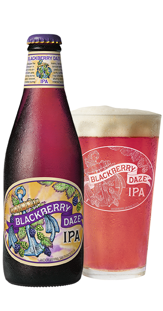Blackberry Daze IPA™ Bottleshot - California Blackberry Beer