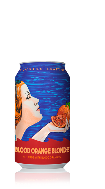 Anchor's Blood Orange Blonde™ Can - California Blonde Ale