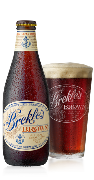 Brekle's™ Brown Bottleshot - American Brown Ale