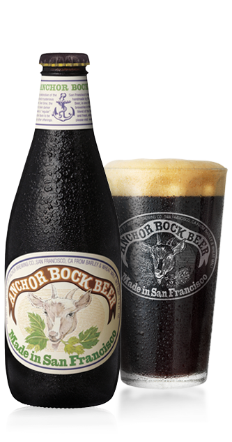 Anchor Bock® Beer Bottleshot
