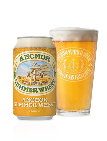 Anchor Summer® Wheat Bottleshot - American Summer Beer