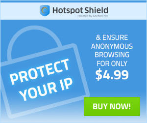 AnchorFree Hotspot Shield