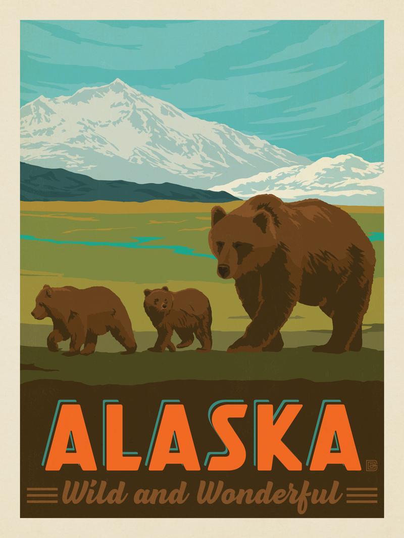 Alaska: Brown Bears