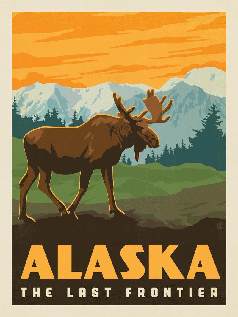 Alaska: Bull Moose