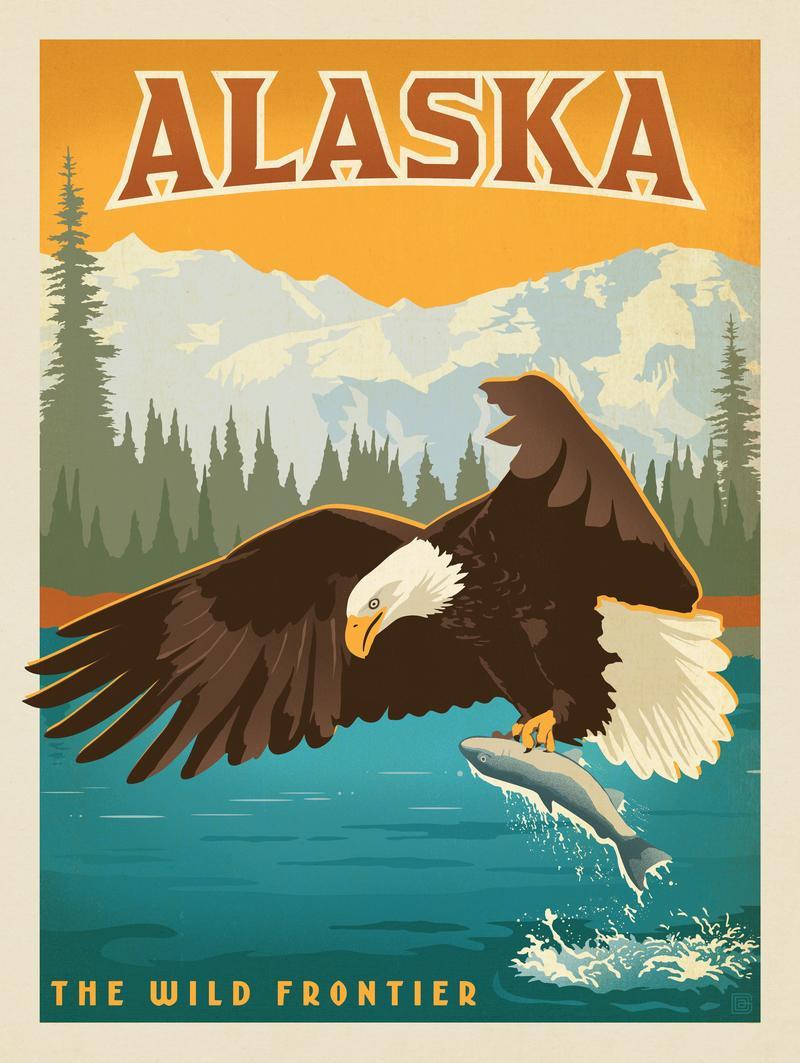 Alaska: Eagle