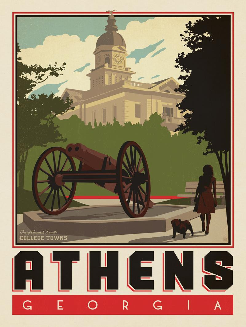 American College Towns: Athens, GA