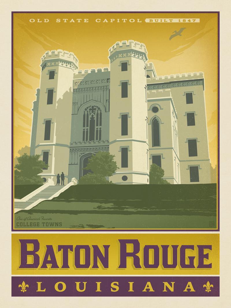 American College Towns: Baton Rouge, LA