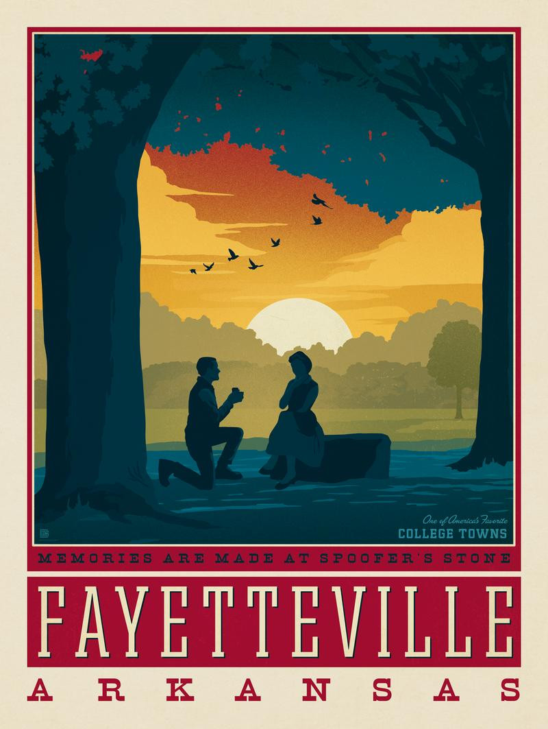 American College Towns:  Fayetteville, Arkansas