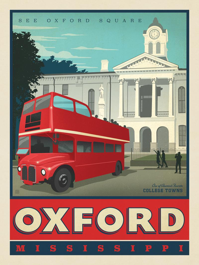 American College Towns: Oxford, Mississippi