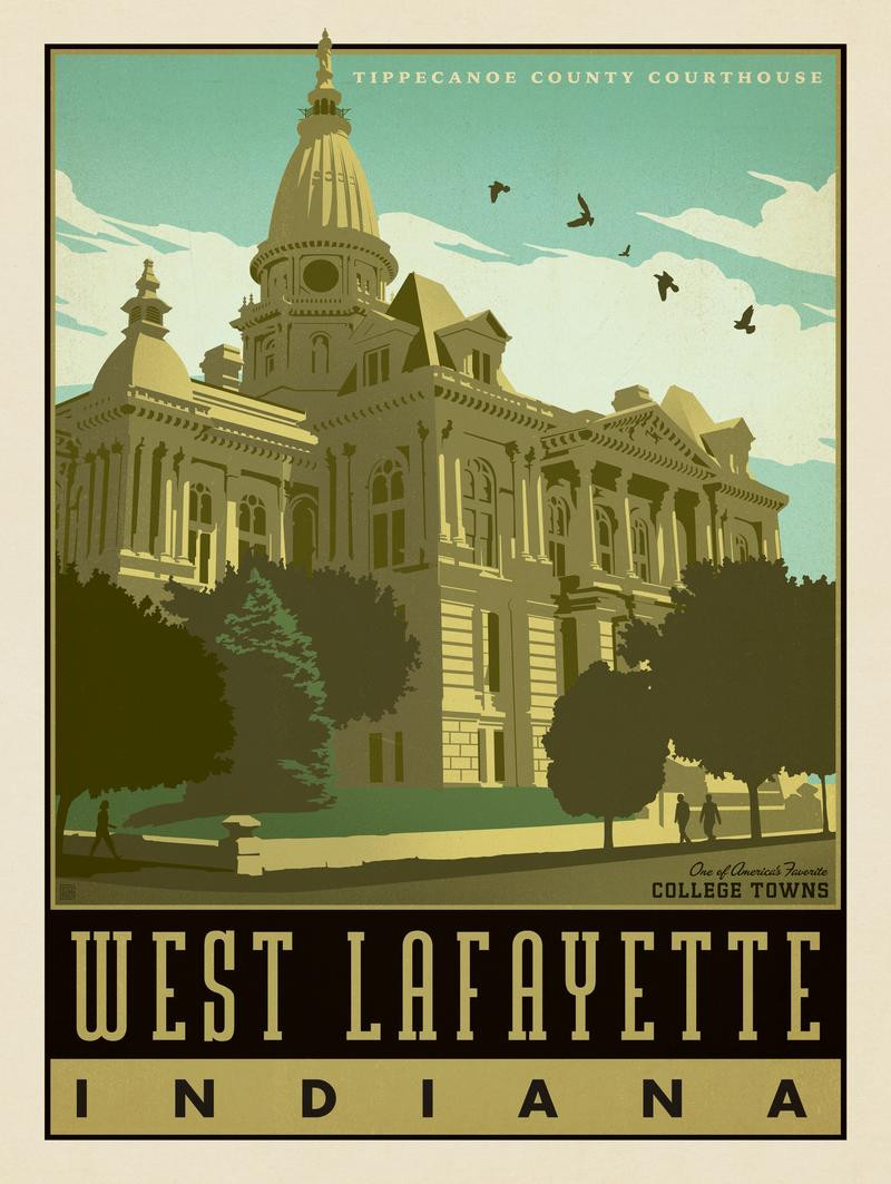 American College Towns: West Lafayette