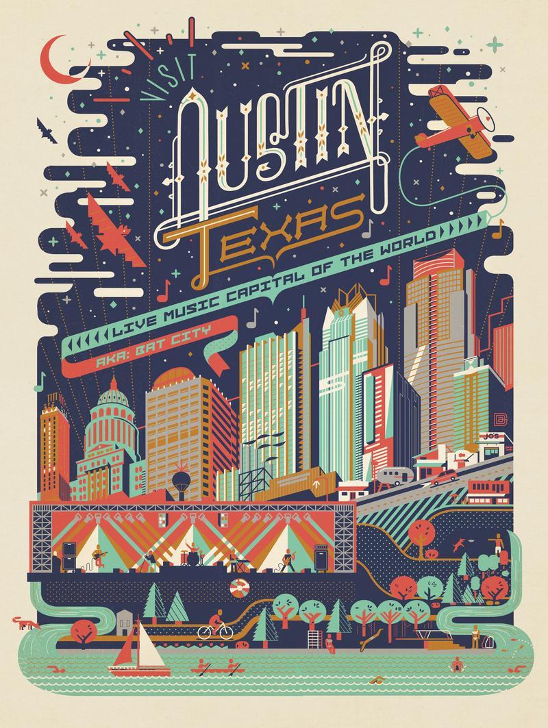 Austin, TX: Mod Print