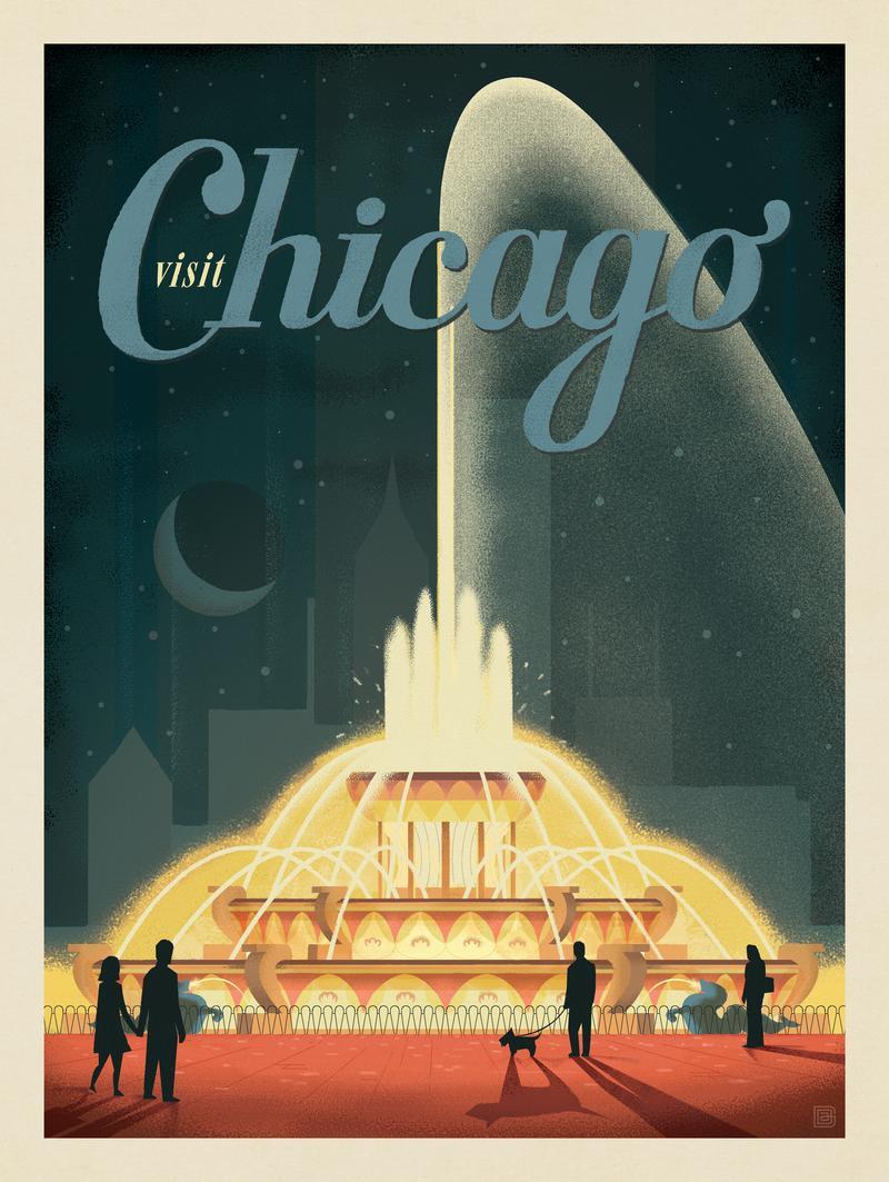 Chicago: Buckingham Fountain