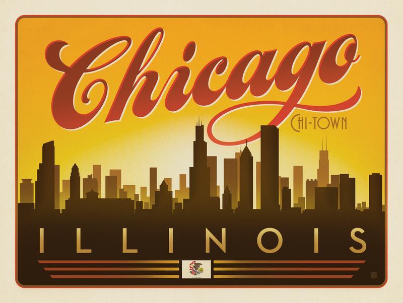 Chicago: Horizontal Skyline
