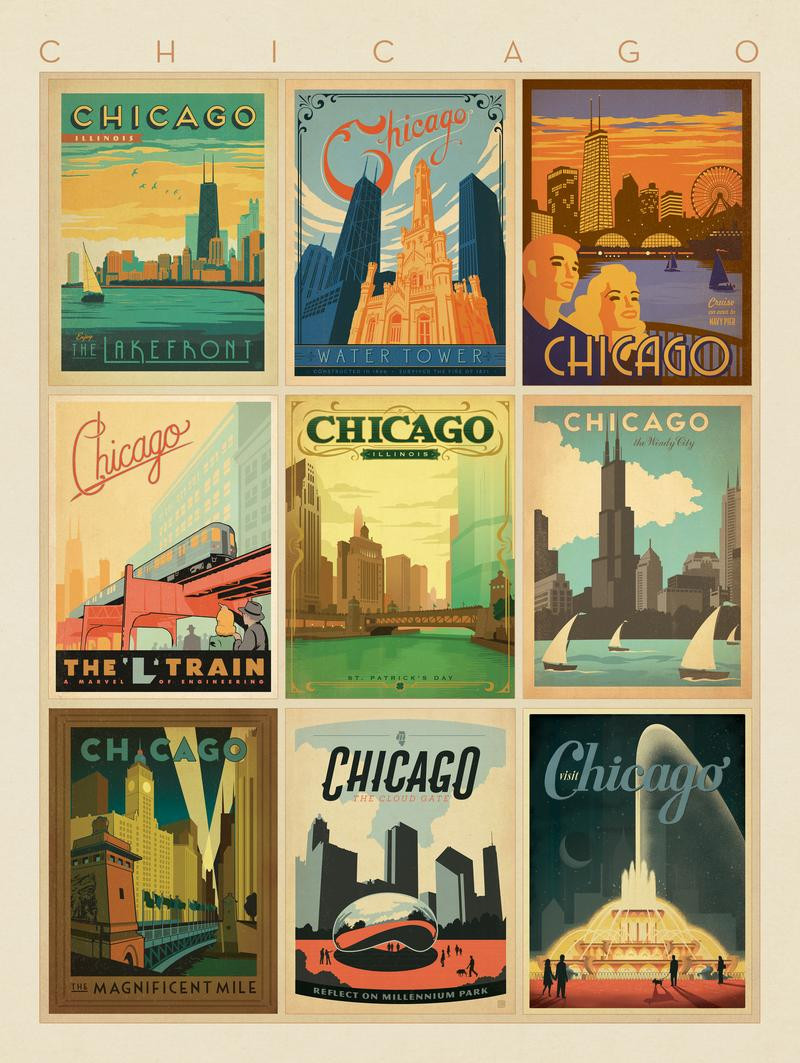 Chicago: Multi-Print