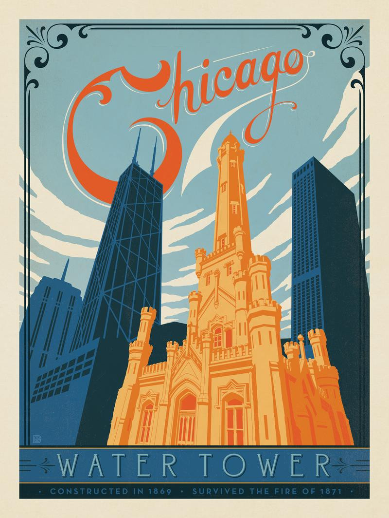 Chicago: Water Tower