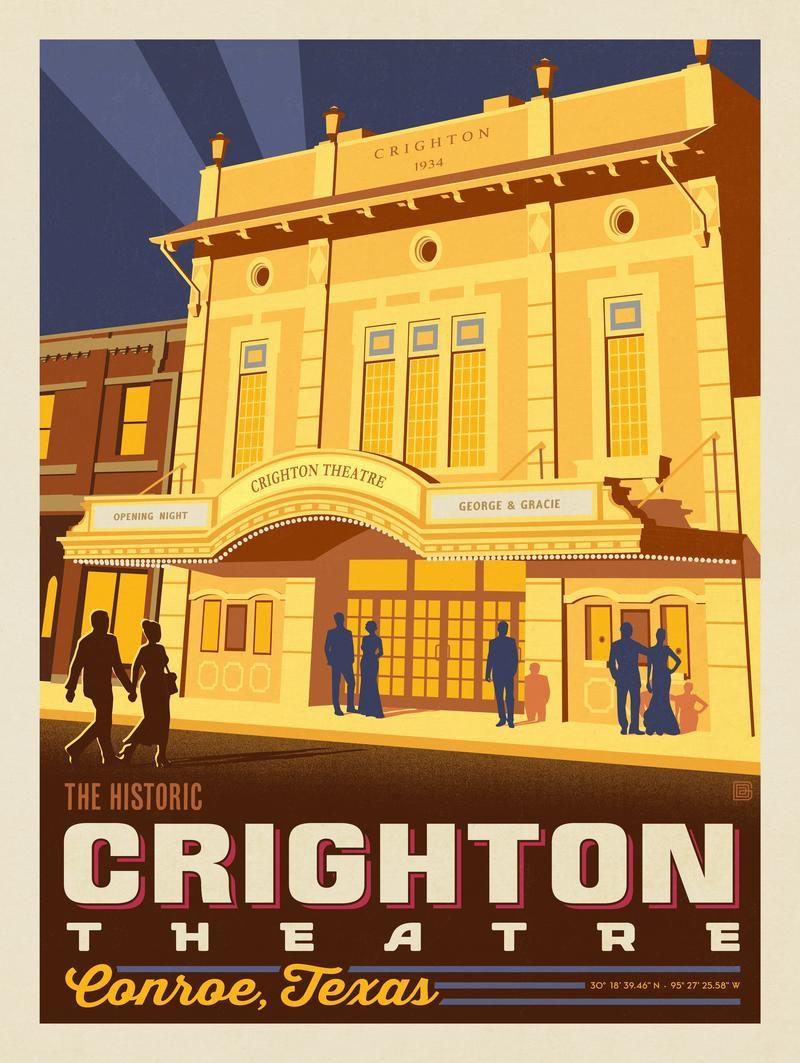 Conroe, TX: Crighton Theatre