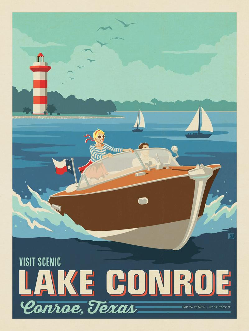 Conroe, TX: Lake Conroe