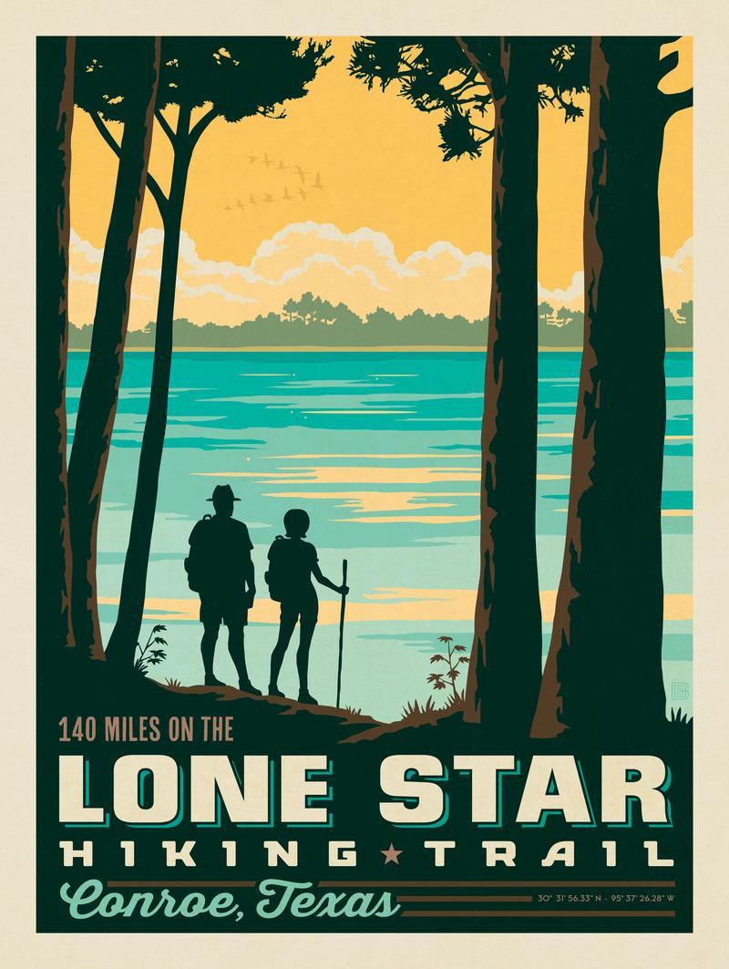Conroe, TX: Lone Star Hiking Trail