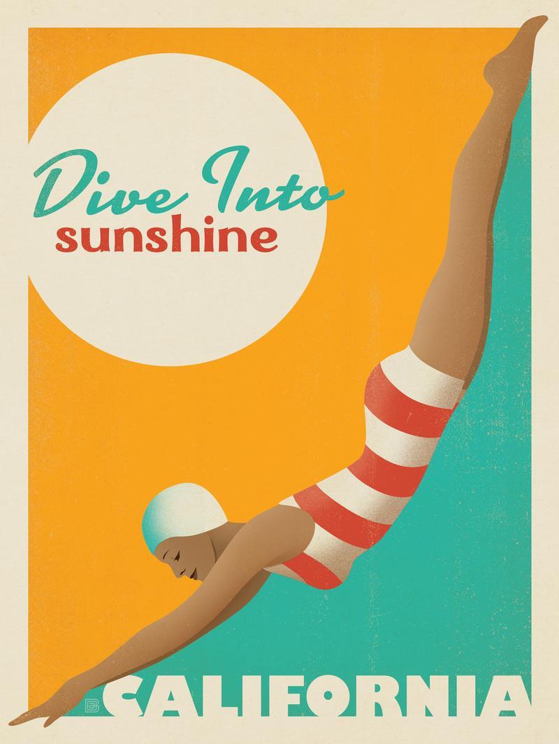 Dive Into Sunshine: California