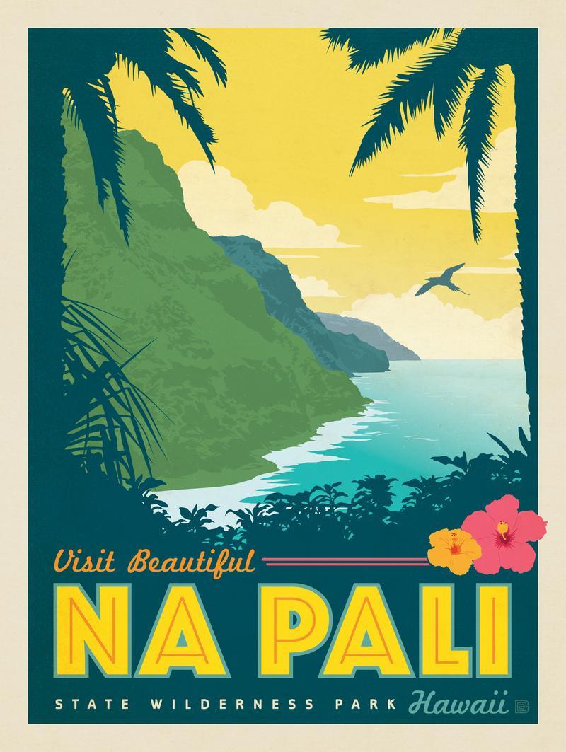 Hawaii: Na Pali State Wilderness Park
