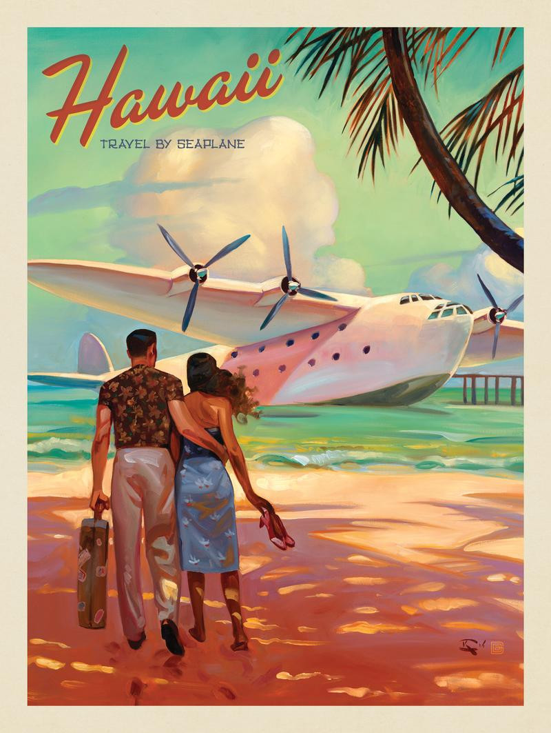 Hawaii: Travel By Seaplane