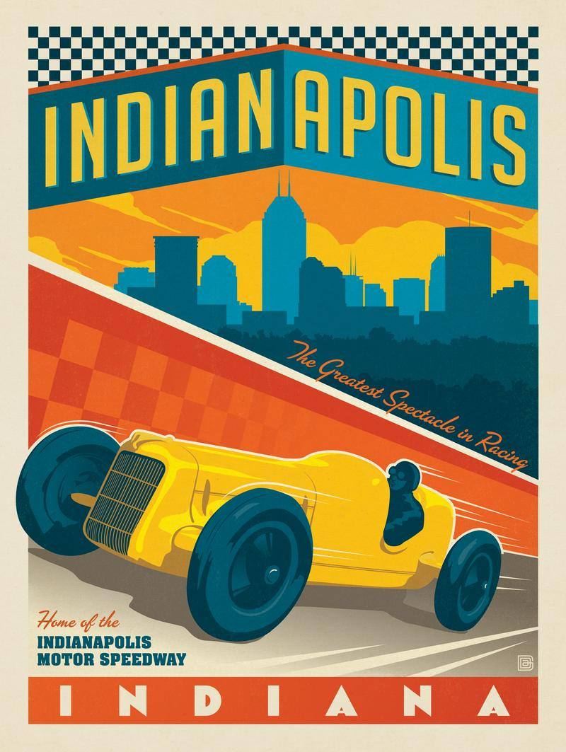 Indianapolis, IN: Vintage Racer