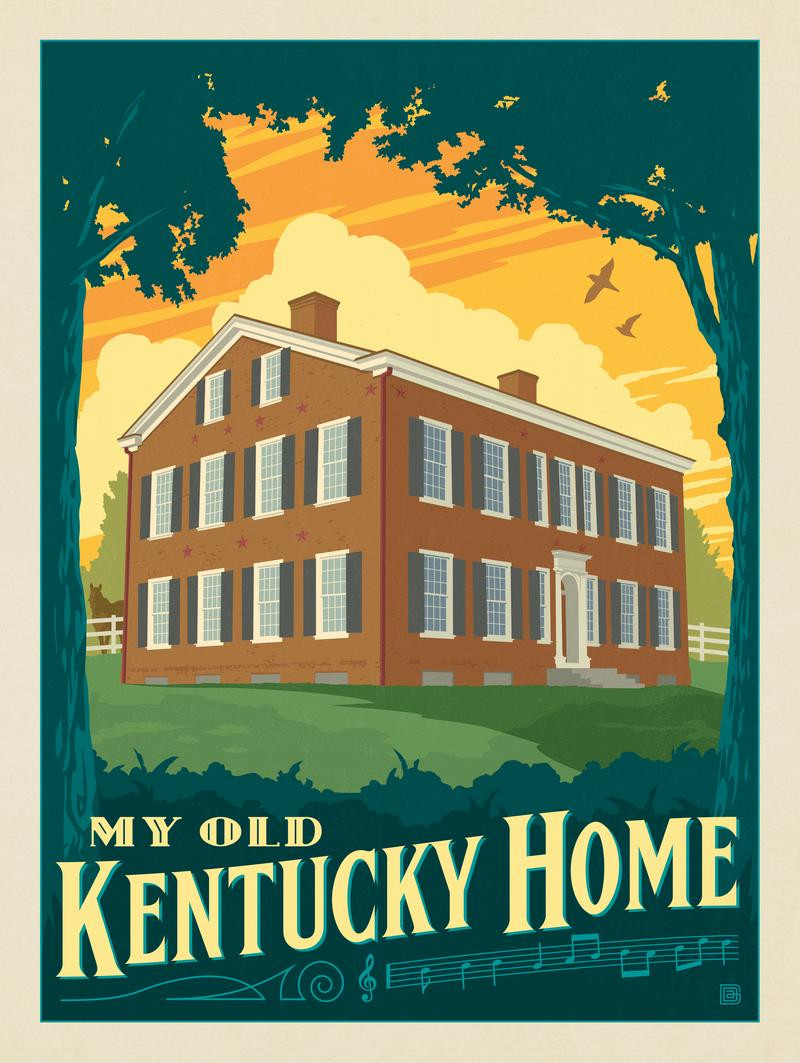 Kentucky Landmark: My Old Kentucky Home