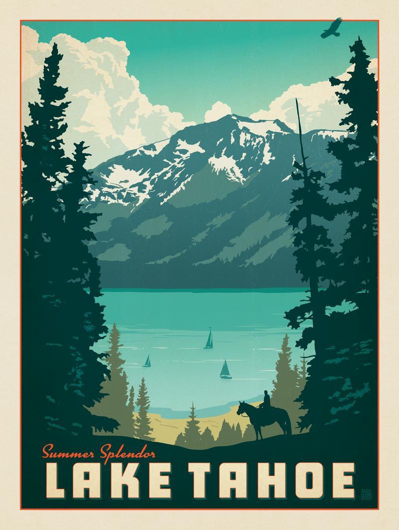 Lake Tahoe: Summer Splendor