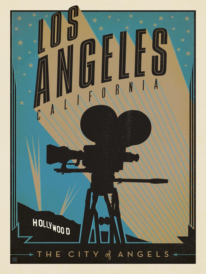 Los Angeles: Print Shop