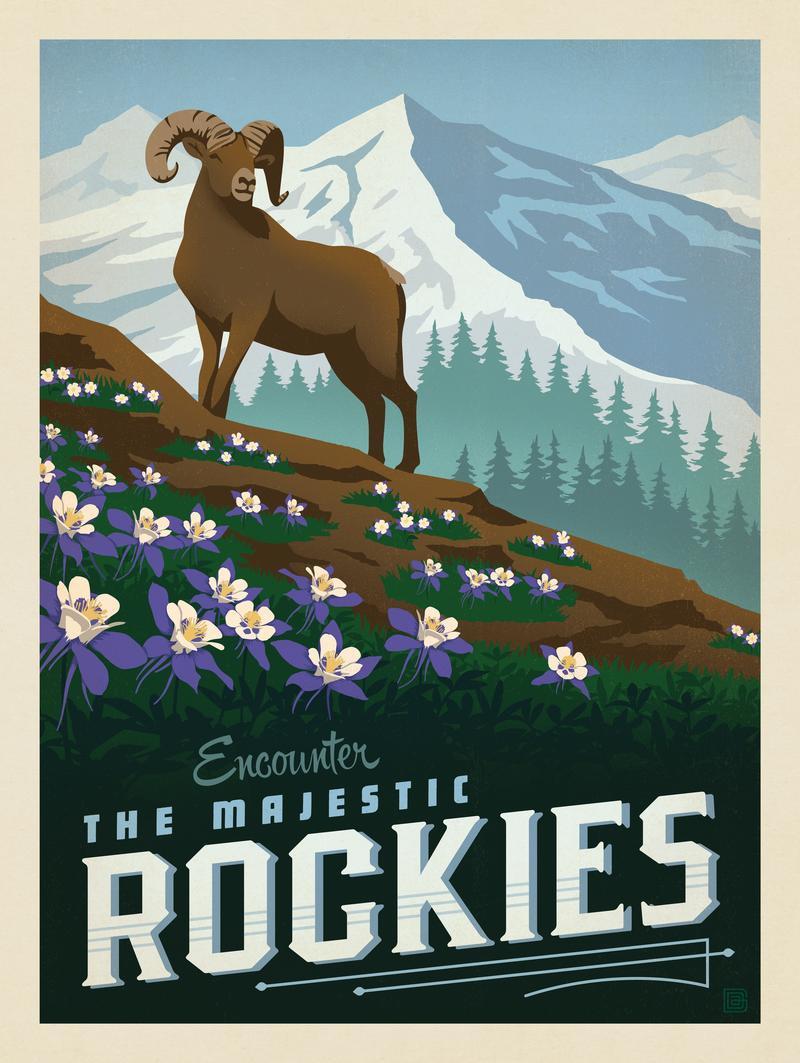 Macy's Flower Show: Rockies