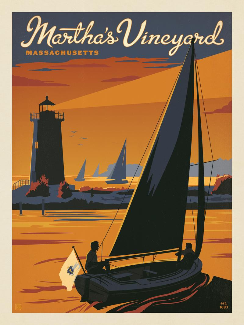 Martha's Vineyard: Sailboat