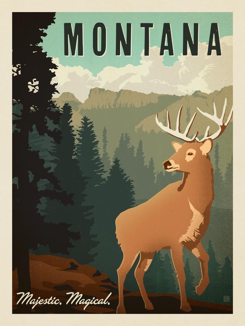 Montana: Majestic. Magical.