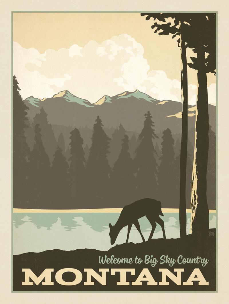 Montana: Welcome To Big Sky Country