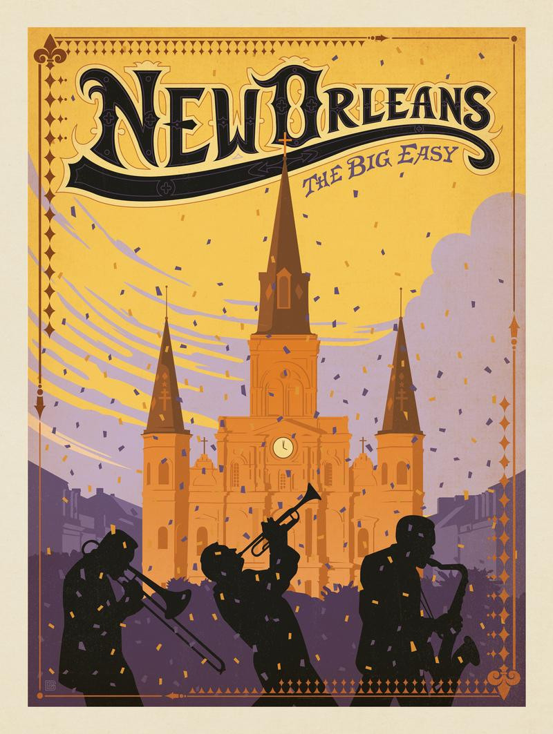 New Orleans: Cathedral
