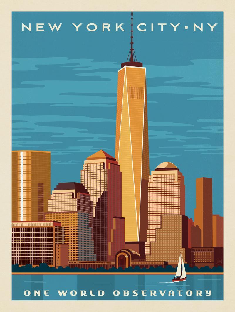 New York: One World Observatory