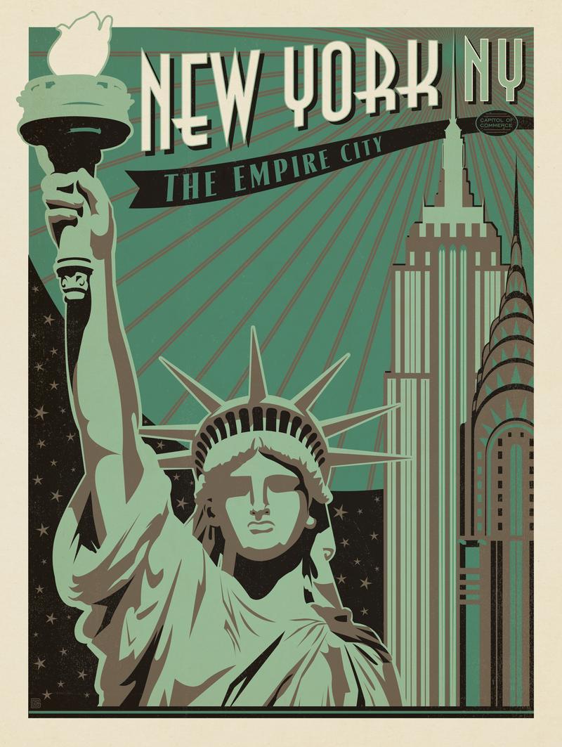 New York: Print Shop Series