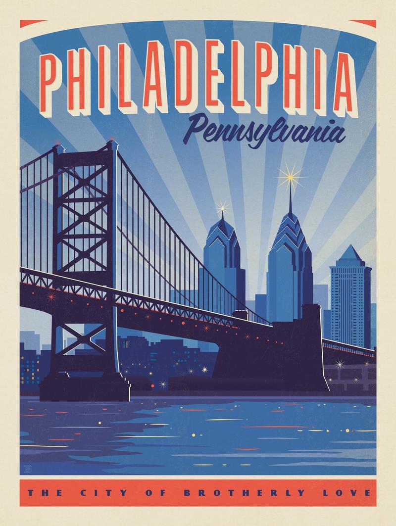 Philadelphia: Benjamin Franklin Bridge