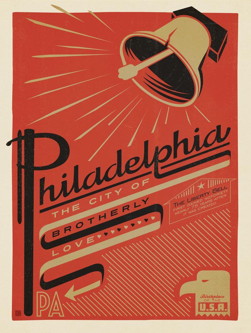 Philadelphia: Print Shop
