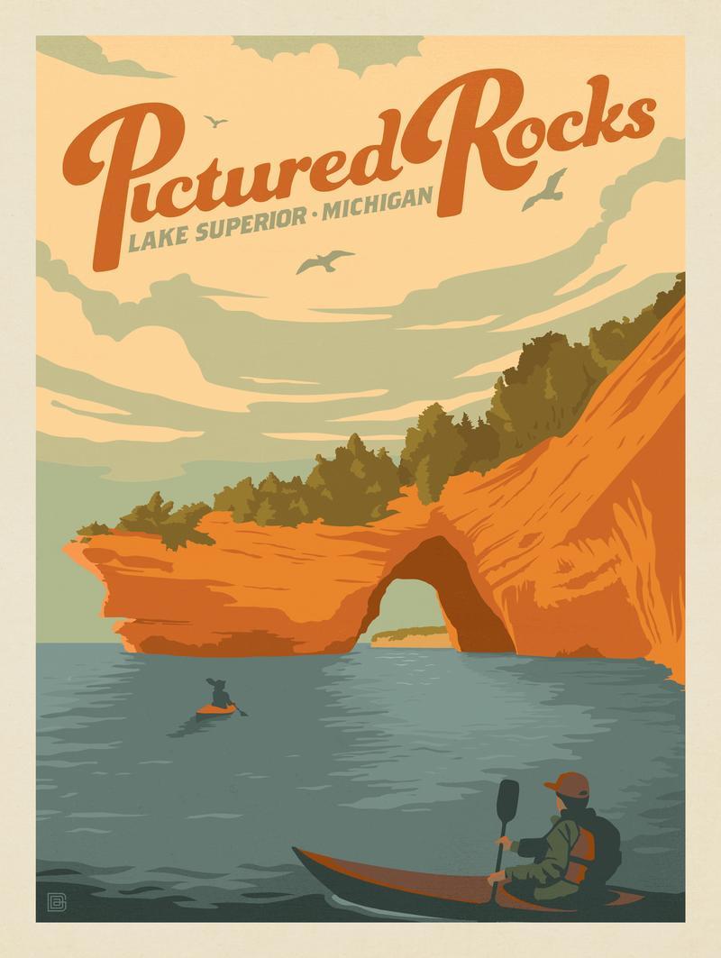 Pictured Rocks, MI: Lake Superior