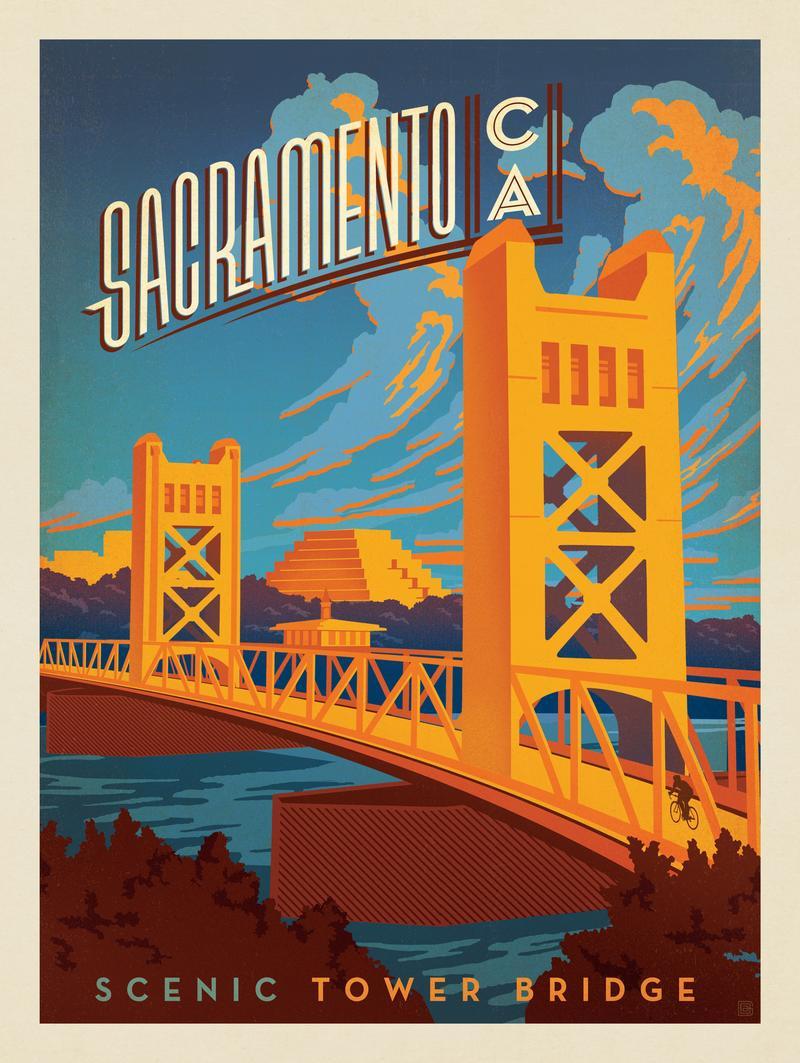Sacramento: Tower Bridge