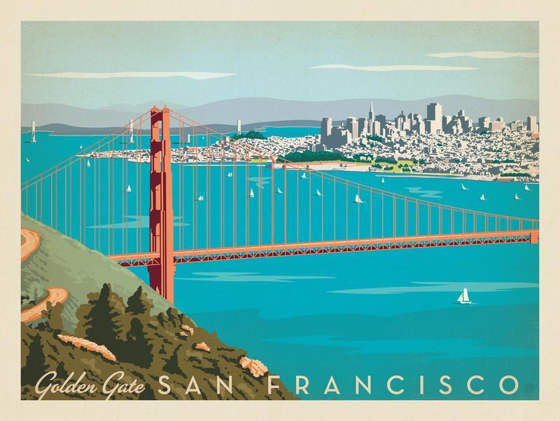 San Francisco: Golden Gate Bridge-Horizontal