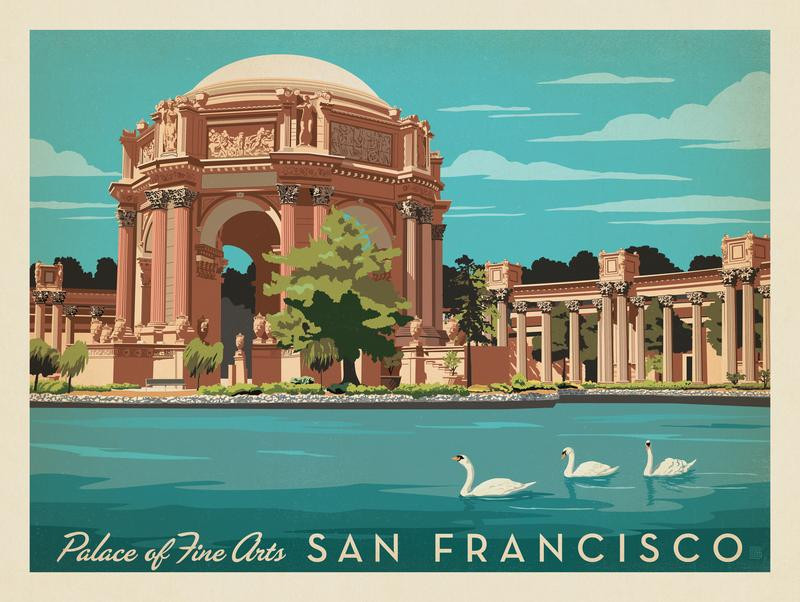 San Francisco: Palace of Fine Arts