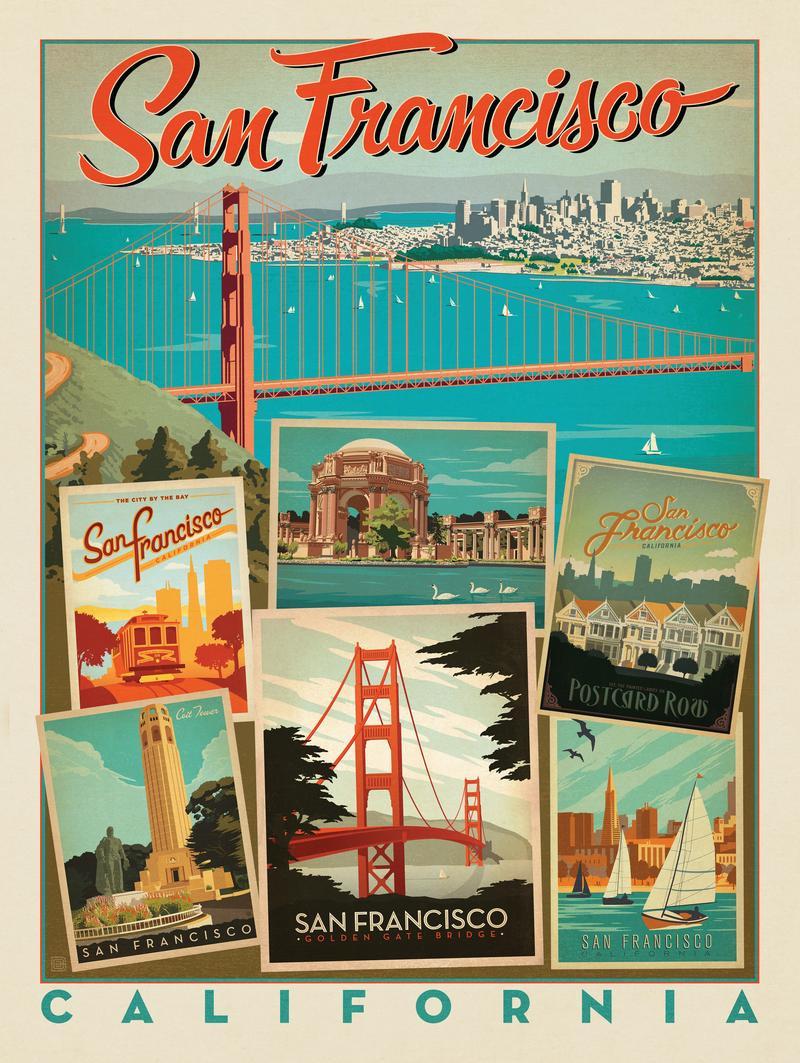 San Fransisco: Multi-Image Print