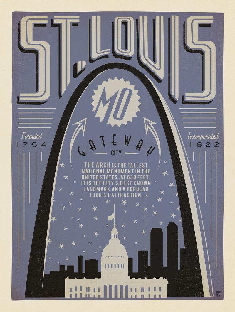 St. Louis: Print Shop