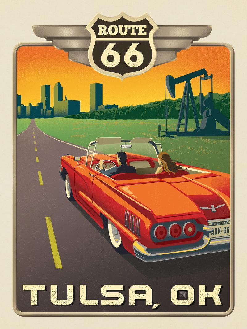 Tulsa, OK: Route 66
