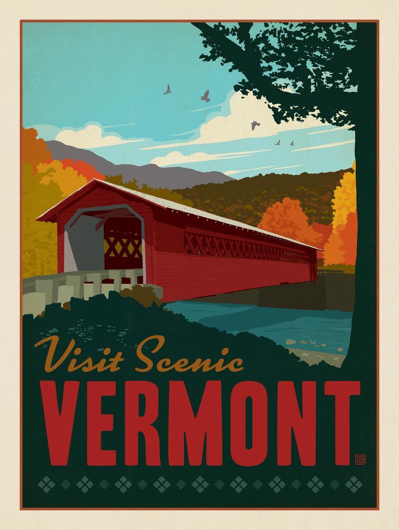 Vermont: Covered Bridge